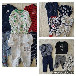 Newborn baby boy bundle - 15 pieces